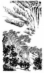 虎第五版-矢量图-猛虎出山-35-虎全图