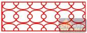 镂空装饰单式002-环环相连-镂空装饰单式002-047-镂空雕刻模板下载