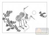 01传统系列-风声鹤唳-00018-雕刻玻璃