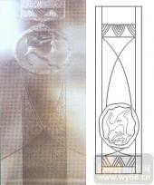 05肌理雕刻系列样图-鹿-00095-雕刻玻璃图案