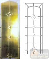 装饰玻璃-浮雕贴片-花纹-00032