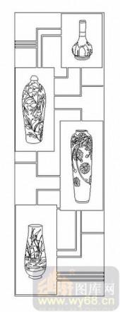 02古文化系列-陶然自得-00003-雕刻玻璃图案