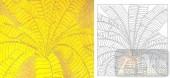 05肌理雕刻系列样图-芭蕉-00116-装饰玻璃