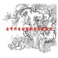 二十四孝-矢量图-07戏彩娱亲-中国传统二十四孝图