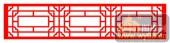 镂空装饰单式002-传统花纹-镂空装饰单式002-015-木雕花镂空隔断