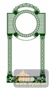 欧式镂空装饰001-优雅-欧式镂空装饰001-033-隔断墙效果图
