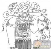 100个中国传统吉祥图-矢量图-吉祥如意-B-032-传统图案