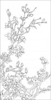竖板379,玉兰花