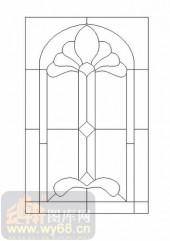 玻璃门-12镶嵌-艺术图形-00013