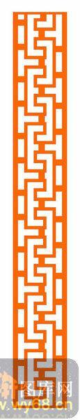 镂空装饰组合式-古朴花纹-镂空装饰组合式-037-木雕花镂空隔断
