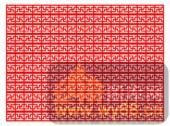 中式镂空装饰001-传统花纹-中式镂空装饰001-031-镂空雕花矢量图