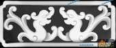 草龙-双龙-035-浮雕灰度图