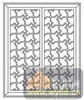 镂空装饰组合式-几何线条-镂空装饰组合式-023-镂空雕花板