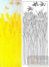 05肌理雕刻系列样图-麦地-00073-雕刻玻璃图案