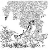 虎第四版-矢量图-猫嬉-9-电子版虎