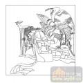 16古典人物-美女弹琴-00057-玻璃门
