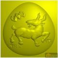 羊 蝙蝠-家具雕刻素材