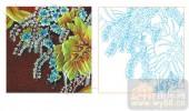 2011设计艺术玻璃刻绘-山楂树之恋-雕刻玻璃图案