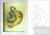 04肌理雕刻系列样图-抽象图案-00195-玻璃门