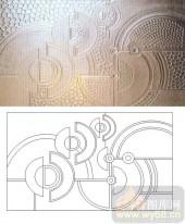 玻璃雕刻-肌理雕刻系列1-圆形物-00138