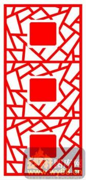 中式镂空装饰001-岁岁平安-中式镂空装饰001-021-镂空效果