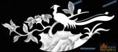 03-花鸟-096-花鸟灰度图案