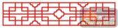 镂空装饰单式002-古代花纹-镂空装饰单式002-063-镂空屏风效果图