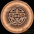 寿字纹-精品浮雕雕刻图库