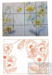 2011设计艺术玻璃刻绘-花-玻璃雕刻