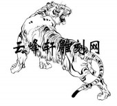 虎2-矢量图-龙翔虎跃-54-虎全图