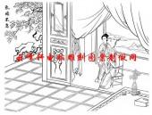 二十四孝-矢量图-17乳姑不怠-中国传统二十四孝图