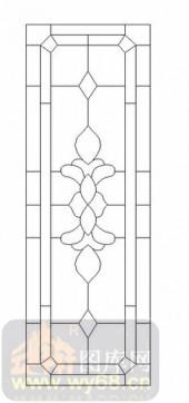 玻璃雕刻-12镶嵌-几何花纹-00043