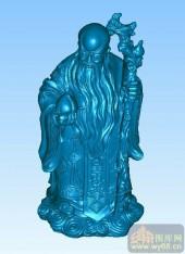 寿星-三维雕刻素材