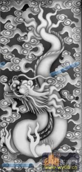 02-蟠龙-018-龙凤浮雕图库