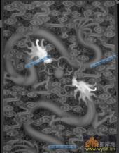 02-二龙戏珠-007-浮雕灰度图