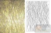 装饰玻璃-肌理雕刻系列1-金黄纹-00145