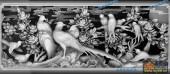03-燕语莺声-013-花鸟灰度图案
