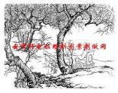 二十四孝-矢量图-05芦衣顺母-中国国画矢量二十四孝图