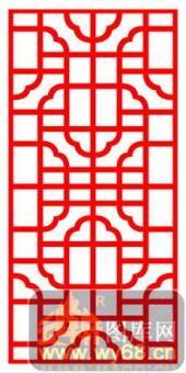 镂空装饰单式002-�花-镂空装饰单式002-025-密度板镂空隔断欧式花型