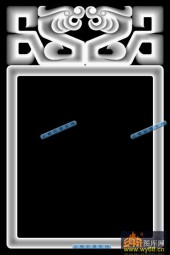 01-龙纹框-036-玉雕浮雕灰度图