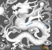 03-龙纹-086-龙凤灰度图