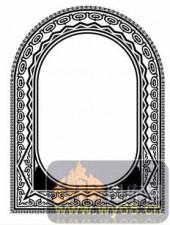 欧式镂空装饰001-高贵-欧式镂空装饰001-013-镂空花纹矢量图