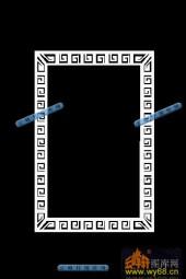 01-回字纹-028-玉雕灰度图案