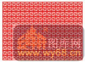 镂空装饰单式002-如花似锦-镂空装饰单式002-030-镂空雕花板