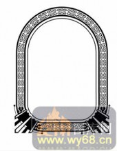 欧式镂空装饰001-美轮美奂-欧式镂空装饰001-016-酒柜