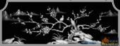 03-燕语莺声-062-花鸟精雕灰度图