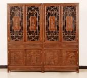 书柜家具-新款雕刻精雕图系列套装1000多张图50元