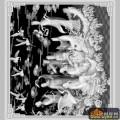 八仙过海 树 云 仙鹤-浮雕灰度图