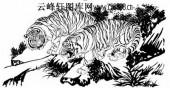 虎第五版-矢量图-龙精虎猛-2-虎雕刻图片