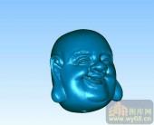 佛头-立体雕刻图
